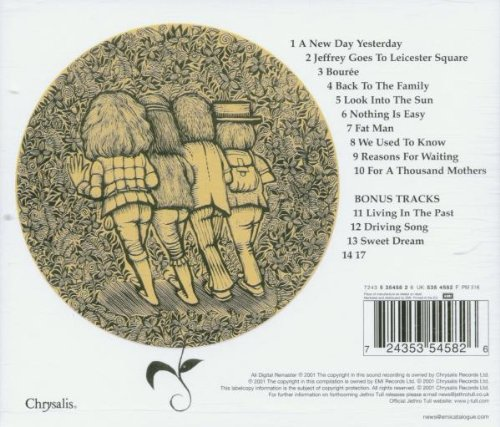 JETHRO TULL - Stand Up - cd retro