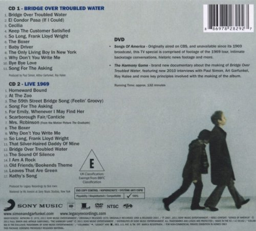 SIMON & GARFUNKEL - Bridge Over Troubled Water - cd retro