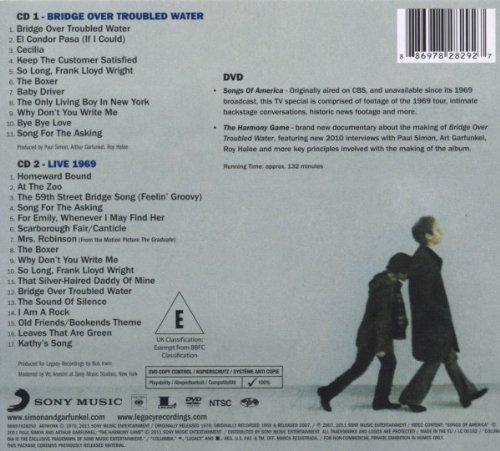 SIMON & GARFUNKEL - Bridge Over Troubled Water - cd retro