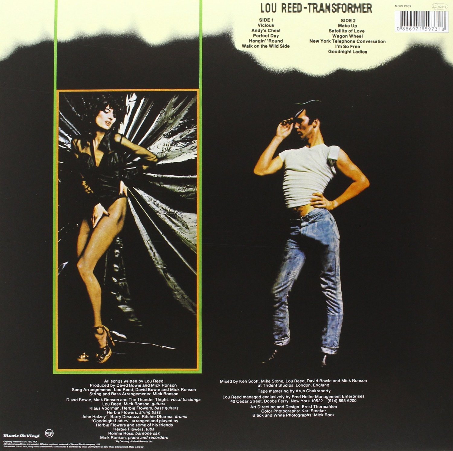 LOU REED - Transformer - retro