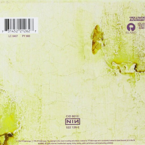 NINE INCH NAILS - The Downward Spiral - retro