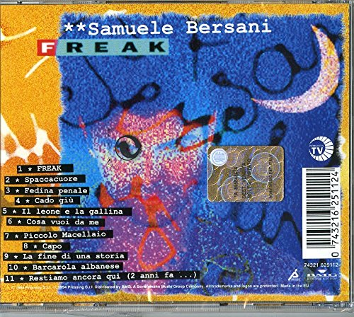 SAMUELE BERSANI - Freak - retro
