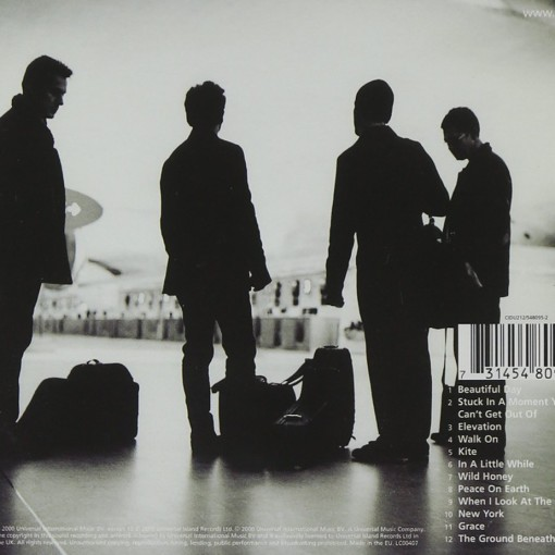 U2 - All That You Can't Leave Behind - retro