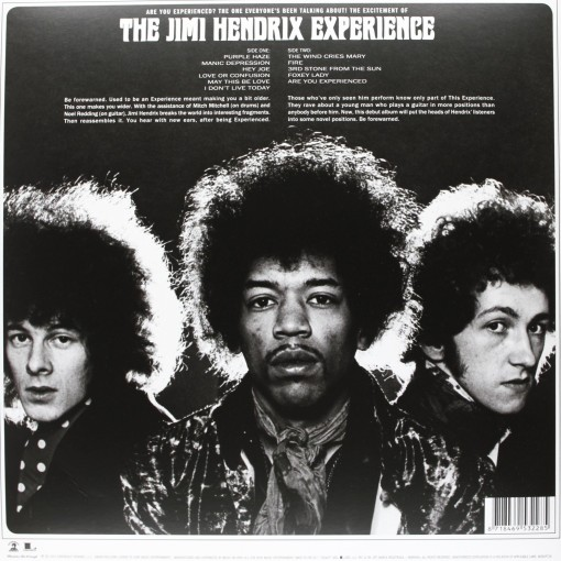 JIMI HENDRIX - Are you experienced_Retro