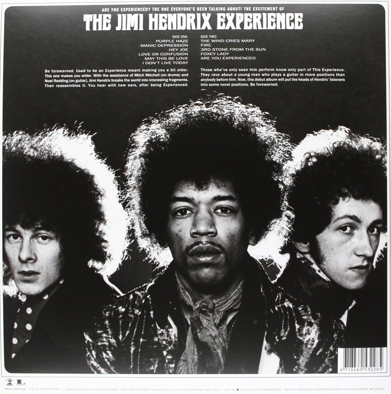 JIMI HENDRIX - Are you experienced_Retro