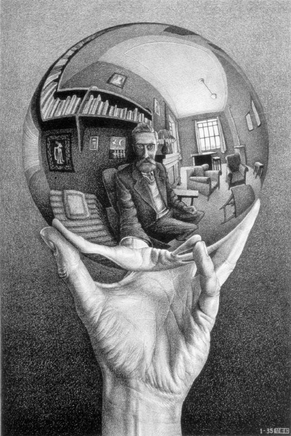 LW268-MC-Escher-Hand-with-Reflecting-Sphere-1935