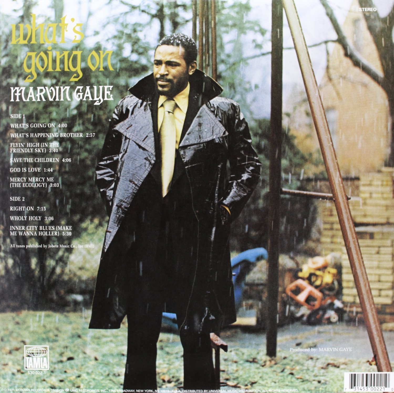 MARVIN GAYE - What's going on_retro