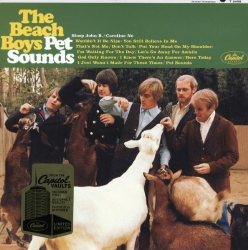 THE BEACH BOYS - Pet sounds_Fronte