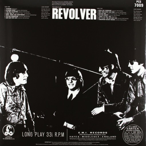THE BEATLES - Revolver_retro