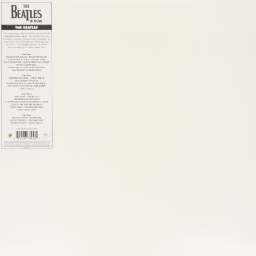 THE BEATLES - The white album_Retro