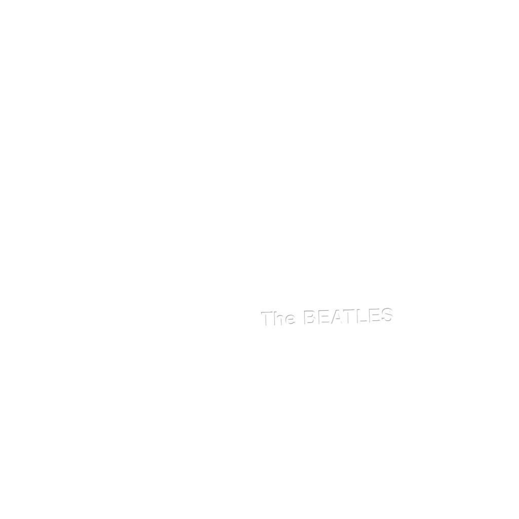 THE BEATLES - The white album_fronte