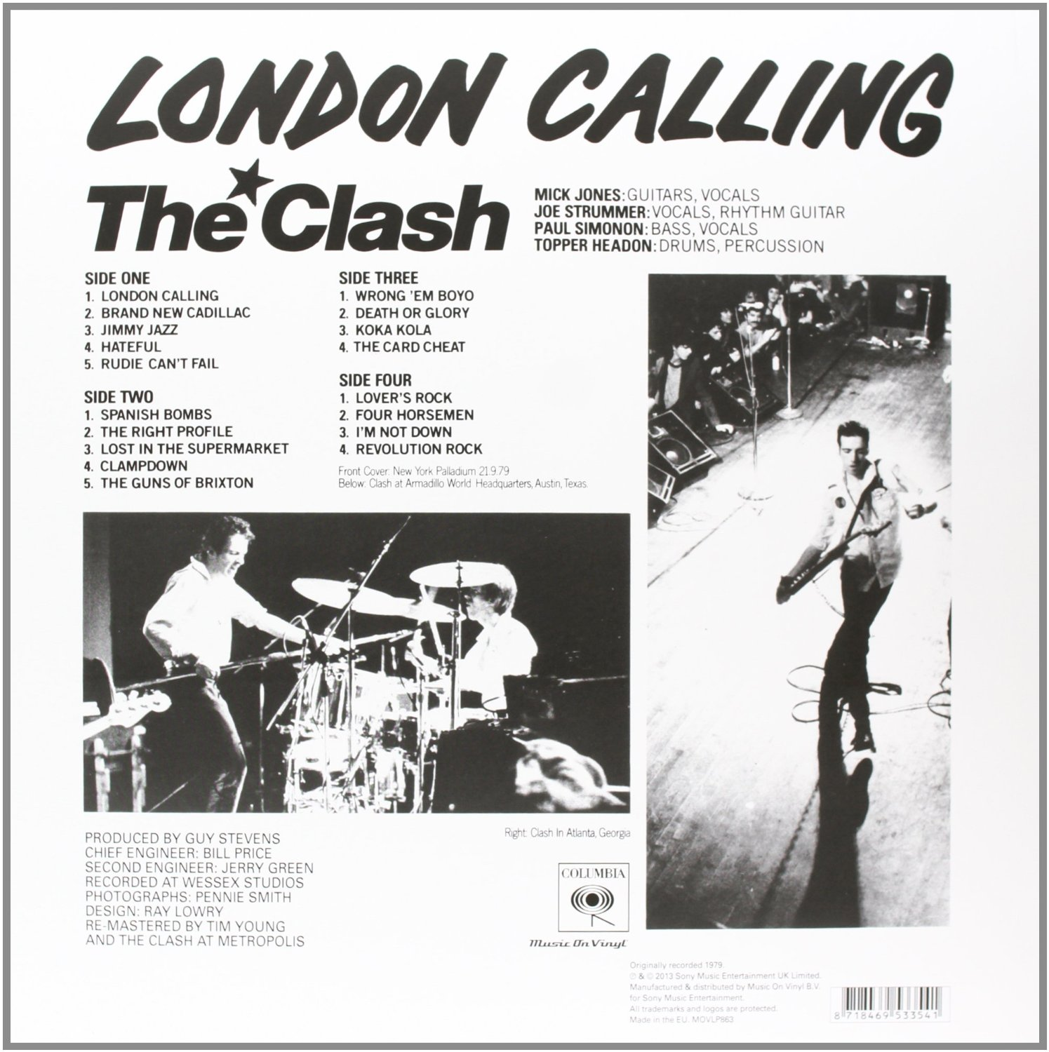 THE CLASH - London calling_Retro