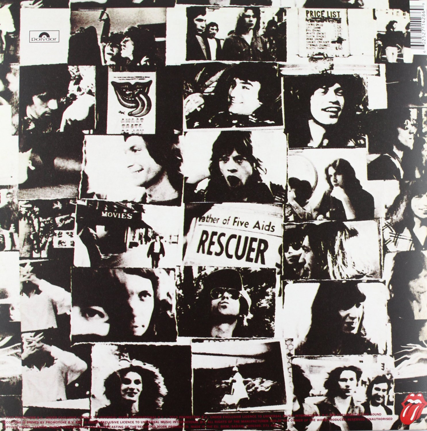 THE ROLLING STONES - Exile on main street_Retro