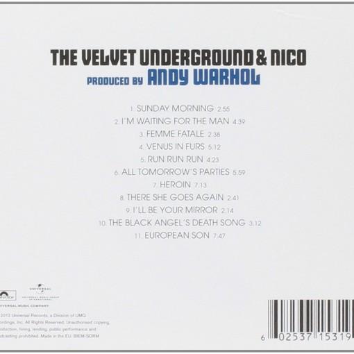 THE VELVET UNDERGROUND AND NICO_Retro_Cd
