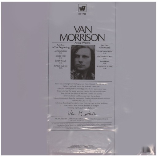 VAN MORRISON - Astral weeks_Retro