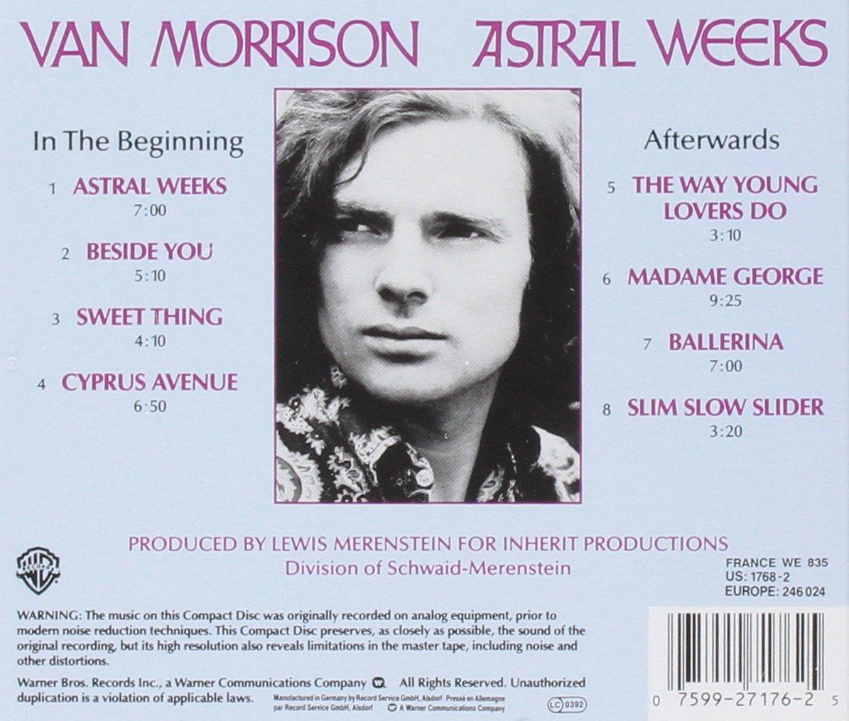 VAN MORRISON - Astral weeks_Retro_Cd