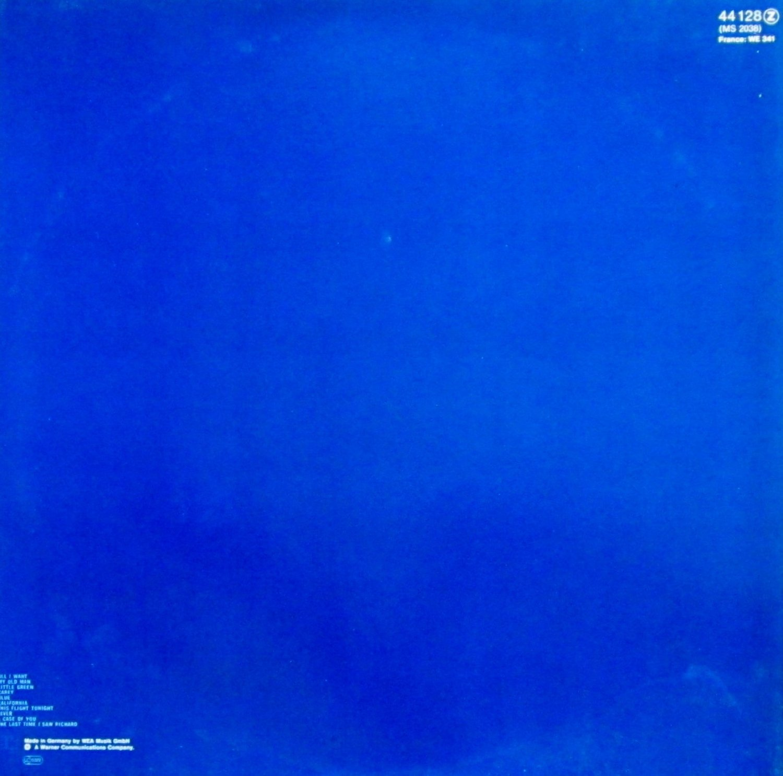 JONI MITCHELL - Blue - retro