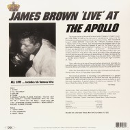 James Brown - Live at the Apollo retro