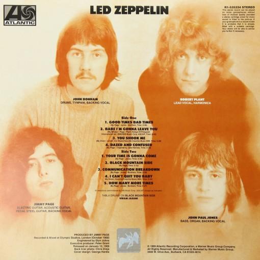LED ZEPPELIN - Led Zeppelin - retro