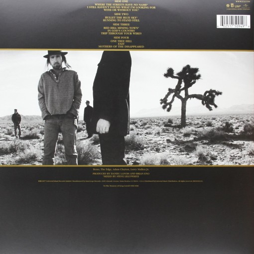 U2 - The Joshua Tree - retro