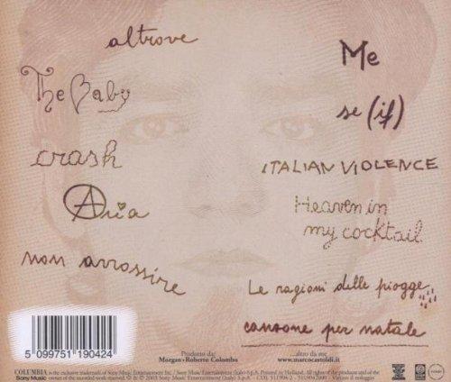 MORGAN - Canzoni Dell'Appartamento - retro